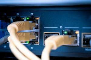 iStock_000016275730XSmall network hub and cable